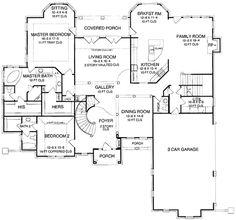 Classic Showpiece Luxury Home Plan - 5473LK | Architectural Designs - House Plans