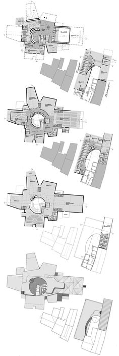 Hans Hollein and Partner: museum of bavarian history proposal