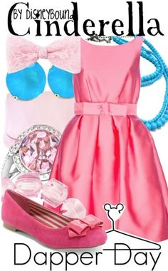 Cinderella-inspired 'Dapper Day' outfit by DisneyBound Movie Inspired Outfits, Disney Themed Outfits, Disney Inspired Fashion, Disney Dresses, Disney Fashion, Disney Clothes, Dapper Day Outfits, Outfits Niños, Cinderella Outfit