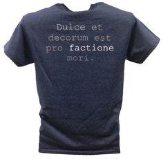 Hebron ACDEC: Heather Navy T-Shirt back
