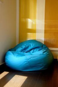 Overview of making a bean bag chair. I love bean bag chairs and could use a few more in my classroom!