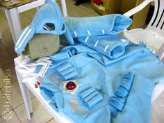 Nausicaa's Cosplay Process II by Witchiko.deviantart.com on @deviantART