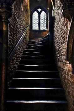 Stairway at Browne's Hospital, Stamford, Lincolnshire, Englandfounded in 1485photo by Lee Morley