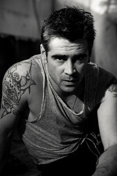♂ Black and white man portrait actor photography by Michael Muller