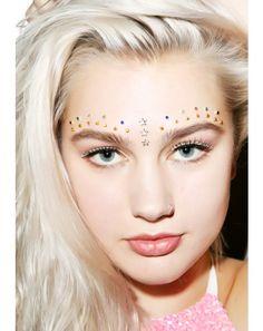 Wicked Hippie || Face Jewels || Sparkleface || Festival Makeup