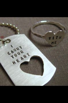I WANT THIS!!!!!!! #love #adorable #ring #dogtags