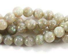 Labradorite round beads (8mm) at GIFTSJOY.COM