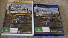 Farming Simulator 2015 and Farming Simulator 2015 Gold Edition.