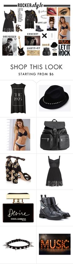 """Rocker Style!"" by marty-97 ❤ liked on Polyvore featuring Ciaté, Valentino, Dolce&Gabbana and Fendi"