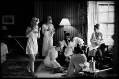 Great #wedding #photograph by Jeff Ascough.  A Lovely moment of the bride getting ready