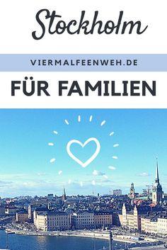 Stockholm ist eine meiner Lieblingsstädte in die ich immer wieder gern zurückkehre. Auch für Familien ist sie perfekt geeignet. Tipps für das Venedig des Nordens im Blog. #Schweden #Familie #Reiseblog #Reisenmitfamilie #Familie #Stockholm