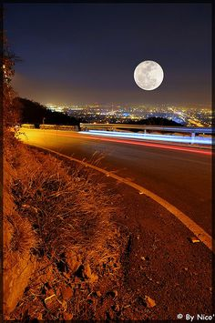 CHARSADDA.PK | pakistani: On way to Daman-e-Koh, Islamabad (Pakistan). Full moon tonight ! …[explored]… by NiC