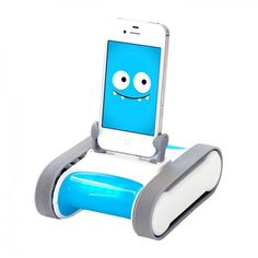 Romo Programmable Robot - iPhone 5 5S 5C on Yellow Octopus #romo #programmable #robot #iphone5 #5s #5c