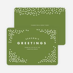 102 best corporate holiday cards images on pinterest corporate snow falling corporate holiday cards from paper culture m4hsunfo