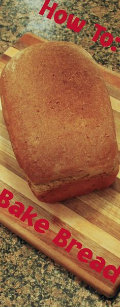 ► How To Bake Homemade Bread. I have tried many whole wheat bread recipes, and this one works best for us. Check it out: http://gmsoap.co/1uWpzm3 #baking #recipe #grain