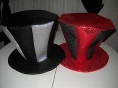 Resultado de imagen para como hacer gorros y sombreros de cotillon