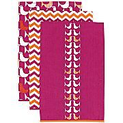 Happy Chic by Jonathan Adler Katie Set of 3 Kitchen Towels