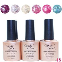 Candy Lover Nail Varnish Soak off UV LED Gel Polish Nail Art Polish Color Gel * Check out the image by visiting the link. Soak Off Gel Nails, Gel Nail Polish, Nail Art Kit, Cute Nail Designs, Uv Led, Nail Trends, Nail Arts, Cute Nails, Nail Colors
