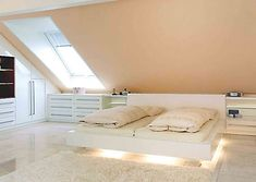 107 Ideas for Youth Rooms Modern and creative - schlsfzimmer - Attic Bedrooms, Bedroom Loft, Home Bedroom, Bedroom Ideas, Youth Rooms, Attic Spaces, Modern Room, New Room, Room Inspiration