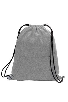 This cotton and poly fleece sweatshirt drawstring backpack is the ultimate  style and fashionable. Feels · Promotional BagsCinch SackDrawstring ... cfbb24edab