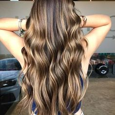 Hair color highlights for brunettes balayage salons 33 ideas 32 Summer Hairstyles, Cool Hairstyles, Hairstyle Ideas, Brown Hair With Highlights, Light Brown Hair, Dark Brown, Hair Color Balayage, Balayage Highlights, Color Highlights