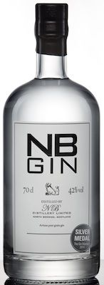 NB Gin, newly imported to the U.S. from Scotland.