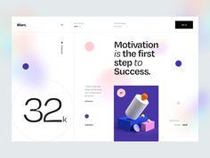 Blurr. Series — by Tran Mau Tri Tam Blur, Ux Design, Branding Design, Graphic Design, Banking Services, Ui Animation, Steps To Success, Ui Design Inspiration, Ui Web