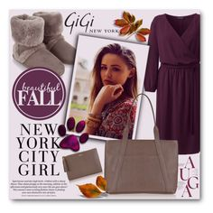 """""""Gigi New York"""" by tanja-871 ❤ liked on Polyvore featuring Accessorize, H&M, Lands' End, GiGi New York, Giginewyork and plus size dresses"""