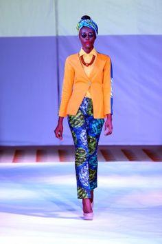 2012 Ghana Fashion week: OrangeCulture