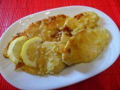 Petto di pollo con senape e limone