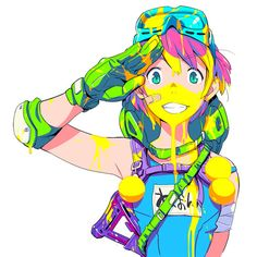 5000 followers. Thank you :-)!Illustration: Shigeto Koyama (Eureka Seven)