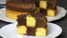 Comment faire un Gâteau Damier – Recette pas à pas en photos