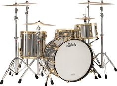 Ludwig Anniversary Edition Stainless Steel: