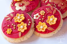 Chinese New Year/Lunar New Year Decorated Almond Cookies