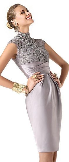vestido cerimonia renda
