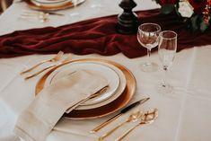 Black Horse Inn Virginia Wedding - Northern Virginia Wedding Photographer - Gorgeous Moody Red and Gold Wedding