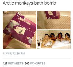 alexturnerishot: Awh yes my favorite bath bomb - Funny Monkeys - Funny Monkeys meme - - alexturnerishot: Awh yes my favorite bath bomb The post alexturnerishot: Awh yes my favorite bath bomb appeared first on Gag Dad. Arctic Monkeys, Monkey Bath, Monkey 3, New Rock Bands, Cool Bands, Alex Turner, Music Humor, Music Memes, Monkey Memes