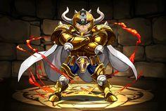 Cavaleiro de ouro - Aldebaran de Touro - versão chibi