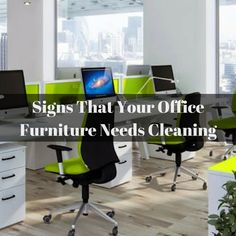 Upholstery Cleaning: Is Your Office Furniture Calling For Help? #OfficeCleaning