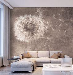 Bedroom Wallpaper Murals, Home Wallpaper, Nature Wallpaper, Home Decor Bedroom, Living Room Decor, Diy Home Decor, Wall Painting Decor, Modern Bedroom Design, Wall Design