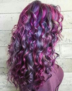 Latest and Greatest Hair Colors for 2019 Cute Hair Colors, Pretty Hair Color, Beautiful Hair Color, Purple Hair, Ombre Hair, Coloured Hair, Mermaid Hair, Crazy Hair, Hair Day