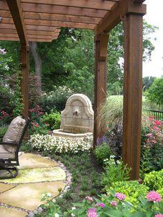Pergola and Fountain details...