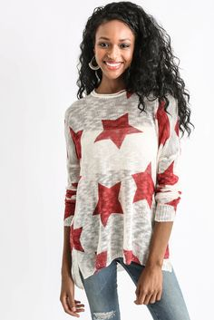 Show Me Your Mumu Bonfire Stars Sweater | South Moon Under