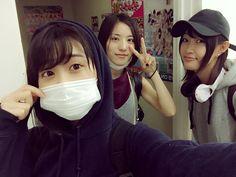 Konomi Kusaka x Anna Ijiri x Emika Kamieda  https://twitter.com/enoki_zzz0112/status/787987610123722757