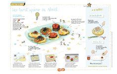 Les tart'apéro: trois recettes de tartelettes à déguster à l'apéro, ou pour un pique-nique. (Extrait du magazine Astrapi n°828, pour les enfants de 7 à 11 ans)