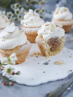 Kaka, Cookie Cake Pie, Muffins, Cheesecake, Cupcakes, Sweets, Cookies, Desserts, Food