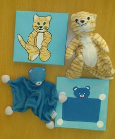 DIY Make painting of child's favourite stuffed animal