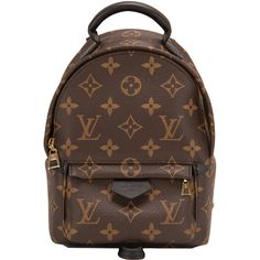 e4eaa1633bb0 Louis Vuitton Monogram Palm Springs Backpack Mini with golden brass  hardware in store fresh condition. Shop authentic Louis Vuitton at Madison  Avenue ...