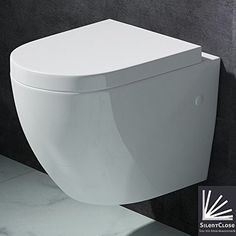 Edle Design Toilette / Hänge WC Aachen376, mit Silent Close Absenkautomatik, Mai&Mai http://www.amazon.de/dp/B00H1U9RBU/ref=cm_sw_r_pi_dp_rvhKvb12Y1GV5