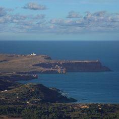 Cap de Cavalleria is the northernmost point on Menorca